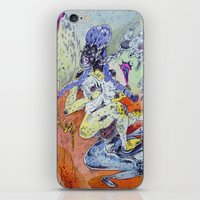best friends iPhone & iPod Skins featuring best friends by Kira Leigh