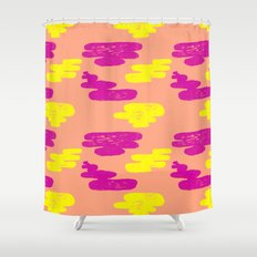 Acid Cloud Shower Curtain