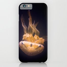 Diving Jellyfish iPhone Case