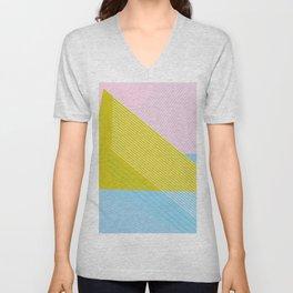West Coast Color Lines Unisex V-Neck