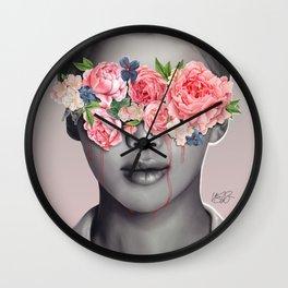Sad eyes Wall Clock