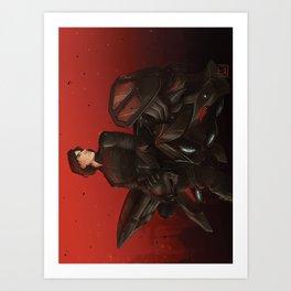 SpaceBike Art Print