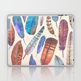 Floating Feathers Laptop & iPad Skin