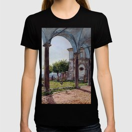 Rudolf von Alt View from Sant'Onofrio on Rome T-shirt