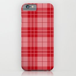 Holly Berry Plaid iPhone Case