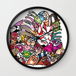 歌舞伎 - JAPANESE KABUKI Wall Clock