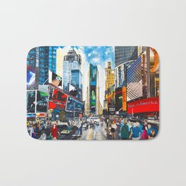 New York, Times Square Bath Mat