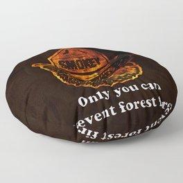 Smokey the Bear Floor Pillow