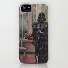 Darth Vader at home  iPhone Case