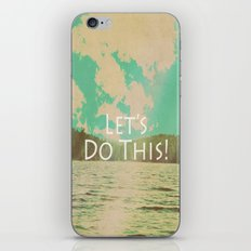 Let's Do This! iPhone & iPod Skin