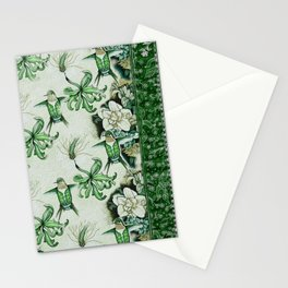 Ruby Throated Hummingbird in Flight Stationery Cards
