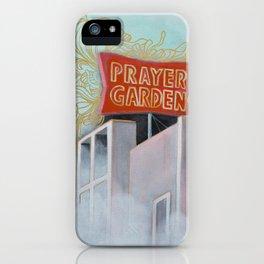 Prayer Garden iPhone Case
