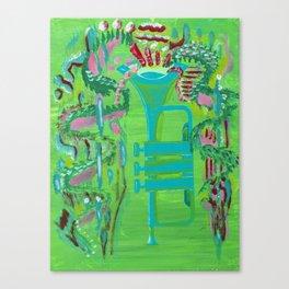 The Trumpet Canvas Print