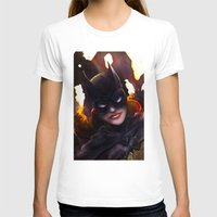 batgirl T-shirts featuring Batgirl by Nicole M Ales