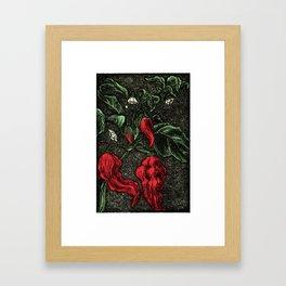 HOT PEPPER Framed Art Print