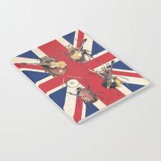 Meet the Beetles (Union Jack Option) Notebook