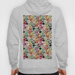 Colored  Easter bunny seamless pattern Hoody