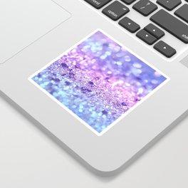 Summer Unicorn Girls Glitter #2 #shiny #pastel #decor #art #society6 Sticker
