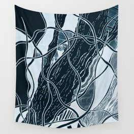 Subtle Seas Wall Tapestry