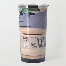 Late Nite Phone Talks Travel Mug