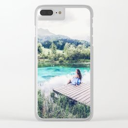 daydreamin Clear iPhone Case