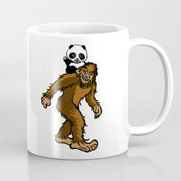 Gone Squatchin with Panda Coffee Mug