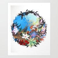 Coral Snake  Art Print
