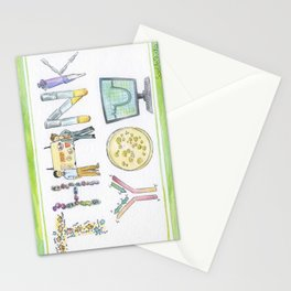 Biology Thank You card Stationery Cards