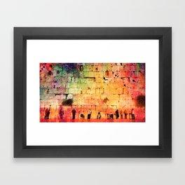 kotel Framed Art Print