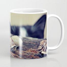 Cat Snails Coffee Mug