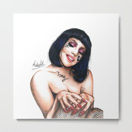 Lady Bliss Metal Print