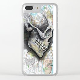 ALBANY, NEW YORK Clear iPhone Case