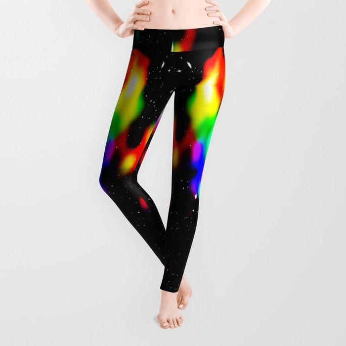 Colorful SPACE Leggings