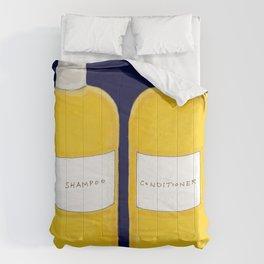 Shampoo & Conditioner (blue) Comforters
