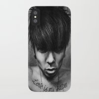 rock n roll iPhone & iPod Cases featuring Rock N Roll by ''Befne''