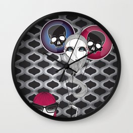 Happy B-Day Samara Wall Clock