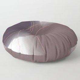 Purple Watercolor Blobs Floor Pillow