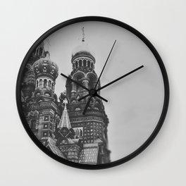 St Petersburg Wall Clock