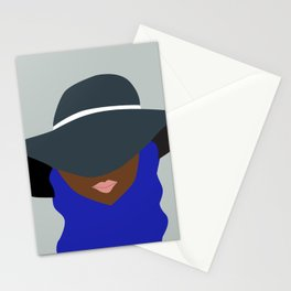 LADY IN A HAT VI Stationery Cards