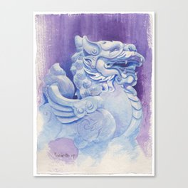 Chinese Auspicious Beast PíXiū Canvas Print