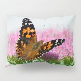 Painted Lady on Sedum Pillow Sham