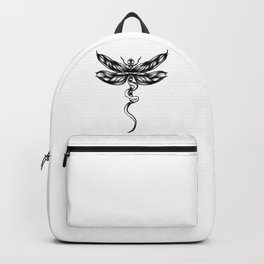 Dragonfly  bw Backpack