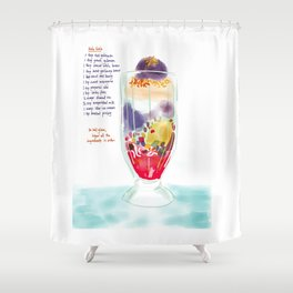 Halo Halo Shower Curtain