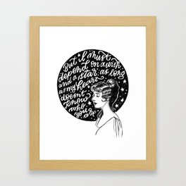 Goodnight, My Someone Framed Art Print