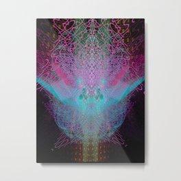 Scramble Light Entity Metal Print