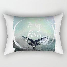 big fish hipster Rectangular Pillow