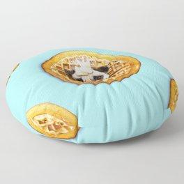 Pug Waffles Floor Pillow