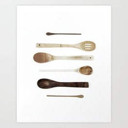 SPOON COLLECTION N1 Art Print