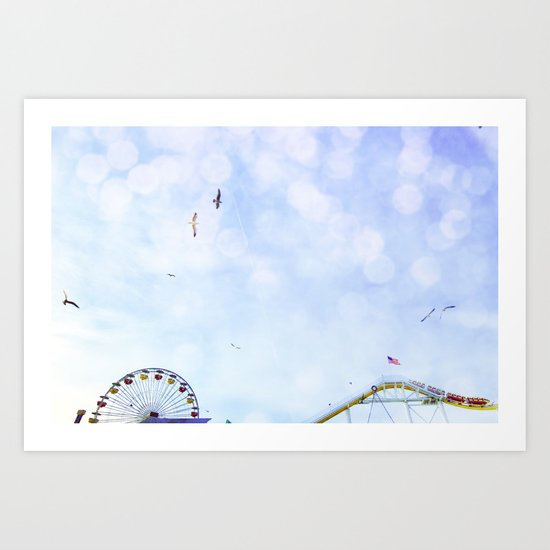 Carnival In The Sky  Art Print