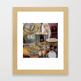 Percussion Instruments Framed Art Print